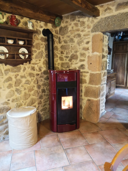 ANNA 12 PRO 3 étanche canalisable - Palazzetti - Aveyron