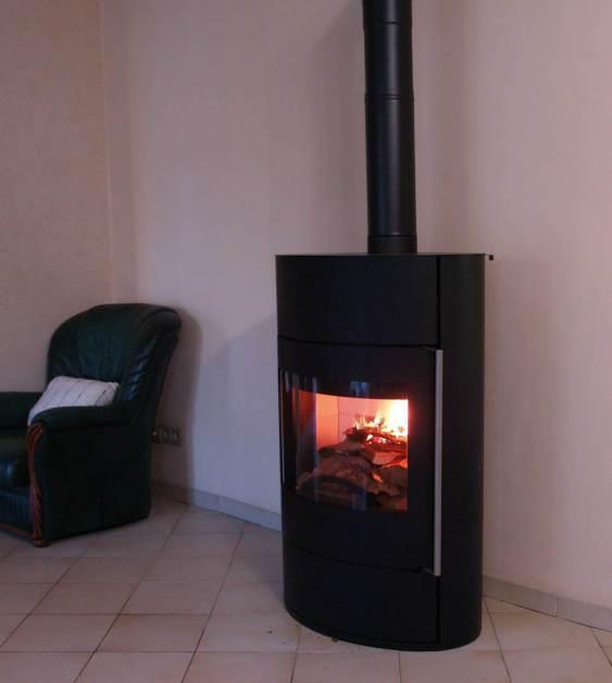 FIFTI poele bois Fonte Flamme - AVEYRON