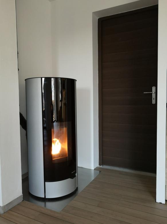 NINA 8 kW Palazzetti - installation Aveyron