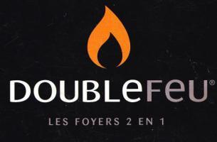 Cheminée double feux, polyflam AVEYRON et LOT