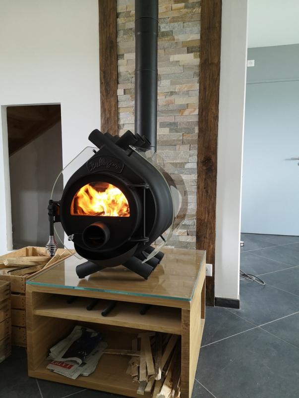 Bulklerjan 8 kW - habillage verre - Aveyron